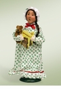 Byers Choice Carolers Night Before Christmas Girl Doll