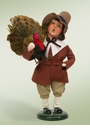 Byers Choice Carolers Pilgrim Boy Doll