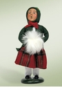 Byers Choice Carolers Traditional Girl Doll