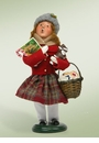 Byers Choice Carolers Traditional Girl Shopper Doll