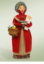 Byers Choice Carolers Traditional Woman Shopper Doll