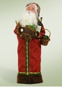 Byers Choice Carolers Wine Santa Doll