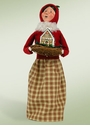 Byers Choice Carolers Woman with Gingerbread Doll