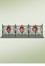 Byers Choice Carolers Wrought Iron Fence