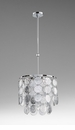 Carina 3 Light Pendant Silver by Cyan Design