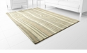 Carson Olive Rug Polyester Grey 7.6'x5' by Cyan Design