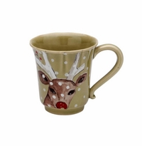 Casafina Deer Friends Coffee Mug