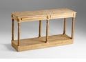 Cassidy Wood Console Table by Cyan Design