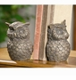 Cast Iron Owl Bookends by SPI Home