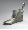 Cast Iron Pewter Shoe Sculpture by Cyan Design