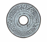 "Cast Iron Trivet - 5 1/2"" Urban Sky Blue Finish"