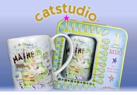 Cat Studio State Coffee Mugs