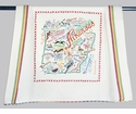 Cat Studio State Dish Towel - Arkansas