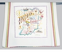 Cat Studio State Dish Towel - Indiana