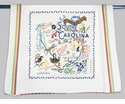 Cat Studio State Dish Towel - South Carolina