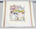 Cat Studio State Dish Towel - South Dakota