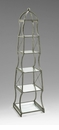 Chester Iron and Glass Etagere Shelf by Cyan Design