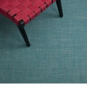 Chilewich Mini Basketweave Floormat 35x48 - Turquoise