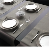 Chilewich Tuxedo Stripe Placemats & Table Runners