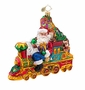 Christopher Radko All Aboard For Christmas Ornament