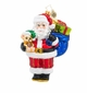 Christopher Radko Bearing Gifts Santa Claus Ornament