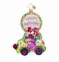 Christopher Radko Beep Beep Birthday Ornament