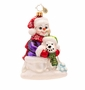 Christopher Radko Best Snow Buddies Ornament