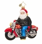 Christopher Radko Born to Be a Biker Ornament