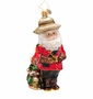 Christopher Radko Canuck Claus Ornament