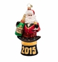 Christopher Radko Cheers the Year Ornament
