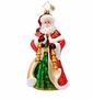 Christopher Radko Chiming Claus Ornament