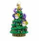 Christopher Radko Christmas Masquerade Christmas Tree with Masks Ornament