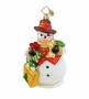 Christopher Radko Christmas Ornament - 5th Avenue Frosty
