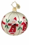 Christopher Radko Christmas Ornament - Cirle of Santas Mini