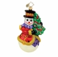 Christopher Radko Christmas Ornament - Holiday Hugger