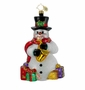 Christopher Radko Christmas Ornament - Jazzman Snow