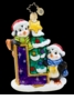 "Christopher Radko Christmas Ornament - Little Pals With ""L"""