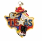 Christopher Radko Christmas Ornament - Lone Star Holiday