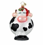 Christopher Radko Christmas Ornament - Merry Christmas to Moo