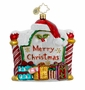 Christopher Radko Christmas Ornament - Merry Message