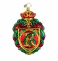 Christopher Radko Christmas Ornament - Merry Monogram