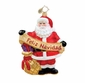 Christopher Radko Christmas Ornament - Papa Noel