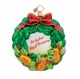 Christopher Radko Christmas Ornament - Partridge Pear Wreath