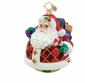 Christopher Radko Christmas Ornament - Rollin' Ruby Claus
