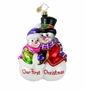 Christopher Radko Christmas Ornament - Sharing the Warmth