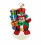 Christopher Radko Christmas Ornament - Snowy Gift Arrival