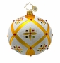 Christopher Radko Christmas Ornament - Stained Glass Memories
