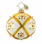 Christopher Radko Christmas Ornament - Stained Glass Memories Mini