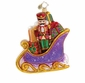 Christopher Radko Christmas Ornament - Sugarplum Sleighride