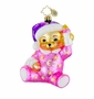 Christopher Radko Christmas Ornament - Sweet Dreams Pink